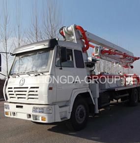 24米混凝土泵车