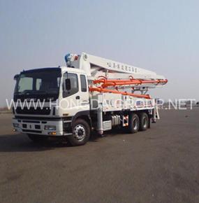 37米臂架泵车