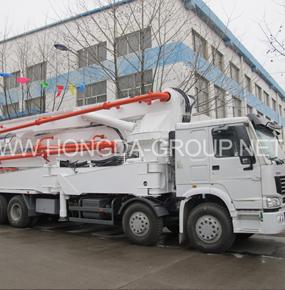 39米臂架泵车