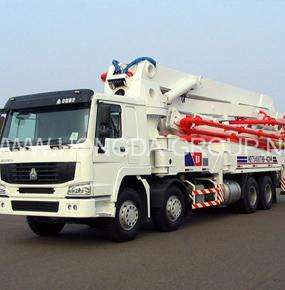 42米臂架泵车
