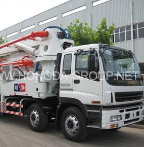45米臂架泵车