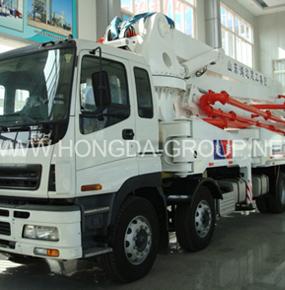 48米臂架泵车