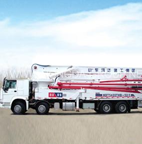 52米臂架泵车